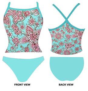 Adoretex Womens Cashu Tankini Swimsuit