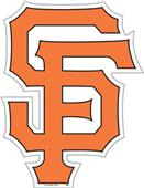 "MLB San Francisco Giants 12"" Die Cut Car Magnets"