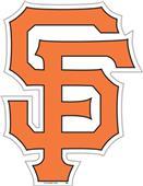 "MLB San Francisco Giants 12"" Die Cut Car Magnets"