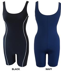 Adoretex Womens Aquathreads Unitard Swimsuit