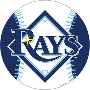 "MLB Tampa Bay Rays 12"" Die Cut Car Magnets"