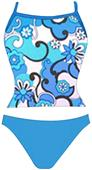 Adoretex Womens Syberpool Tankini Swimsuit