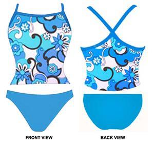Adoretex Womens Syberpool Tankini Swimsuit