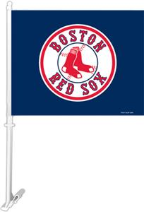 "MLB Boston Red Sox 2-Sided 11"" x 14"" Car Flag"