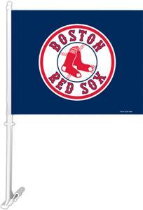 "MLB Boston Red Sox 2-Sided 11"" x 14"" Car Flag"