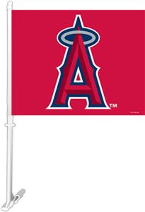 "MLB Anaheim Angels 2-Sided 11"" x 14"" Car Flag"