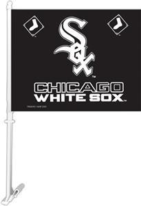 "MLB Chicago White Sox 2-Sided 11"" x 14"" Car Flag"