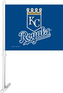 "MLB Kansas City Royals 2-Sided 11"" x 14"" Car Flag"