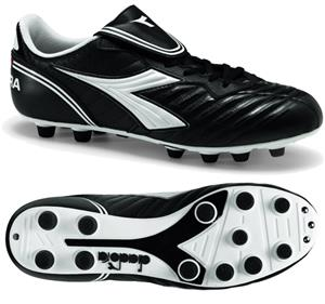 Diadora Scudetto LT MD PU Soccer Cleats - Black