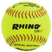 "Champion NFHS Leather 12"" Softballs (DOZEN)"