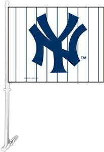 "MLB New York Yankees 2-Sided 11"" x 14"" Car Flag"