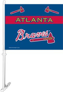 "MLB Atlanta Braves 2-Sided 11"" x 14"" Car Flag"