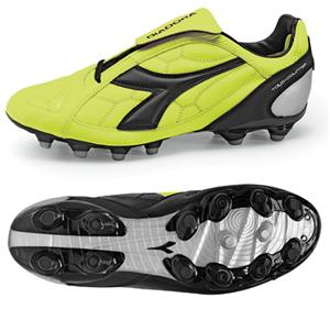 Diadora DD-Eleven R MG 14 Soccer Cleats - Yellow