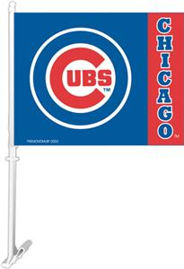 MLB Chicago Cubs 2-Sided 11&quot; x 14&quot; Car Flag