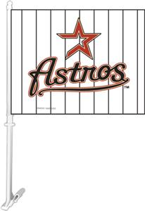 "MLB Houston Astros 2-Sided 11"" x 14"" Car Flag"