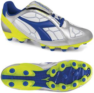Diadora DD-Eleven R MG 14 Soccer Cleats - Silver