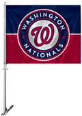 "MLB Washington Nationals 2-Sided 11""x14"" Car Flag"