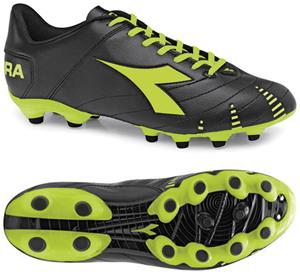 Diadora Evoluzione R MG 14 Soccer Cleats - Black