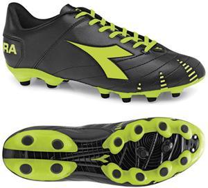Diadora Evoluzione R MG 14 Soccer Cleats - Black