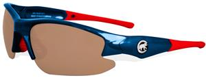 Maxx MLB Chicago Cubs Dynasty Bear Logo Sunglasses