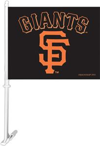 MLB San Francisco Giants 2-Sided 11&quot;x14&quot; Car Flag