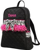 Sassi Designs Childs Dance Zebra Backpack