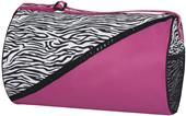 Sassi Designs Zebra Boutique Round Duffel Bag