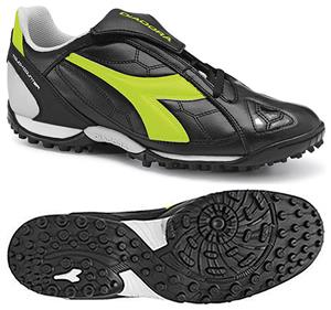 Diadora DD-Eleven R TF Soccer Shoes - Black