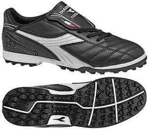 Diadora Forza TF Soccer Shoes - Black