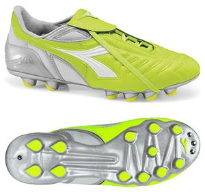 Diadora Maracana MD PU W Soccer Cleats - Yellow