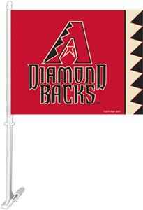 "MLB Arizona Diamondbacks 2-Sided 11""x14"" Car Flag"