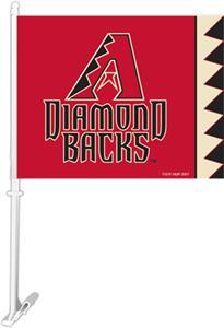 """MLB Arizona Diamondbacks 2-Sided 11""""x14"""" Car Flag"""