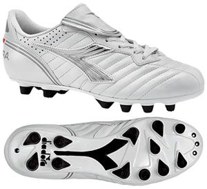 Diadora Scudetto LT MD PU W Soccer Cleats - White