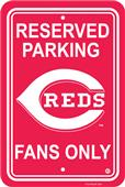 MLB Cincinnati Reds Plastic Parking Sign