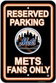 MLB New York Mets Plastic Parking Sign