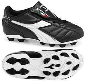 Diadora Forza MD JR Soccer Cleats - Black