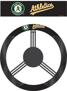MLB Oakland Athletics Steering Wheel Cover