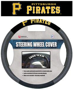 MLB Pittsburgh Pirates Steering Wheel Cover