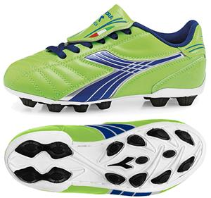 Diadora Forza MD JR Soccer Cleats - Lime Green