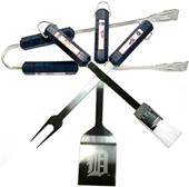 MLB Detroit Tigers 4 Piece BBQ Grilling Set