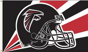 NFL Atlanta Falcons 3' x 5' Flag w/Grommets