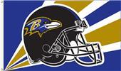 NFL Baltimore Ravens 3' x 5' Flag w/Grommets