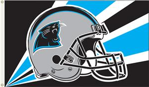 NFL Carolina Panthers 3' x 5' Flag w/Grommets