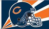 NFL Chicago Bears 3' x 5' Flag w/Grommets