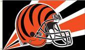 NFL Cincinnati Bengals 3' x 5' Flag w/Grommets