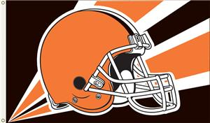 NFL Cleveland Browns 3' x 5' Flag w/Grommets