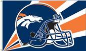NFL Denver Broncos 3' x 5' Flag w/Grommets