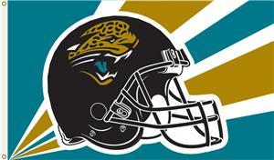NFL Jacksonville Jaguars 3' x 5' Flag w/Grommets