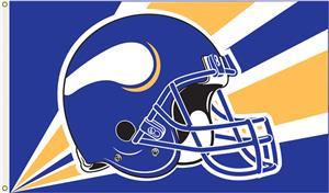 NFL Minnesota Vikings 3' x 5' Flag w/Grommets