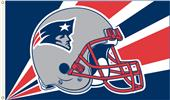 NFL New England Patriots 3' x 5' Flag w/Grommets